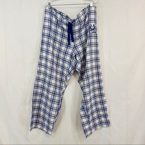 NFL Indianapolis Colts Plaid Pajama Lounge Pants